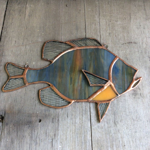 Stained Glass Sunfish by Doug Law