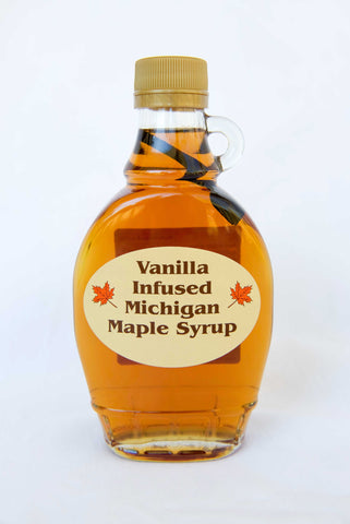 Vanilla Infused Michigan Maple Syrup - Tassier Sugar Bush