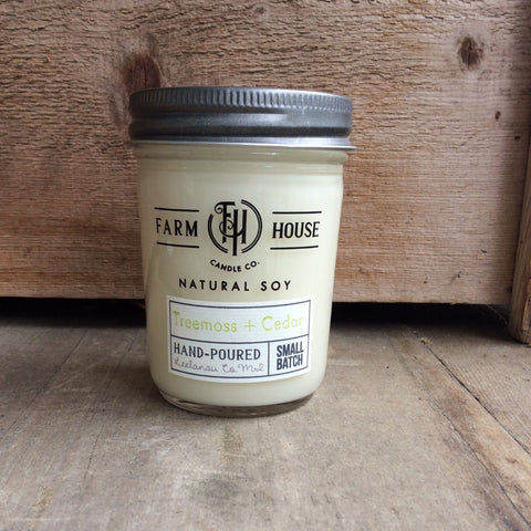Treemoss + Cedar - Farm House Candle Co.