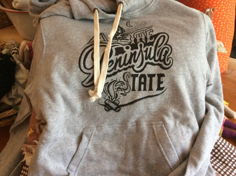 The Peninsula State Hoodie -Ardent Ink