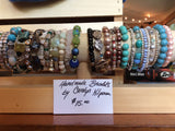 Beaded Bracelets by Carolyn Kilponen - consignment
