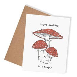 Happy Birthday to a Funguy Card by Nature Walk