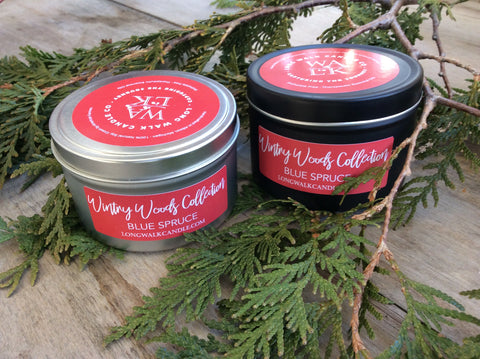 Blue Spruce by Long Walk Candle Co.