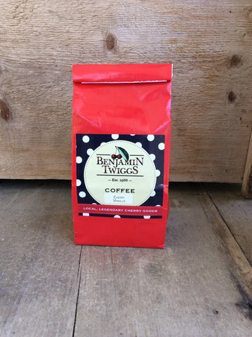 Cherry Vanilla Coffee by Benjamin Twiggs - ground