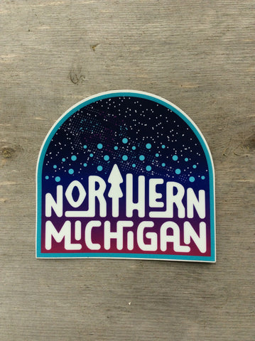 Northern Michigan Sticker- Ardent Ink