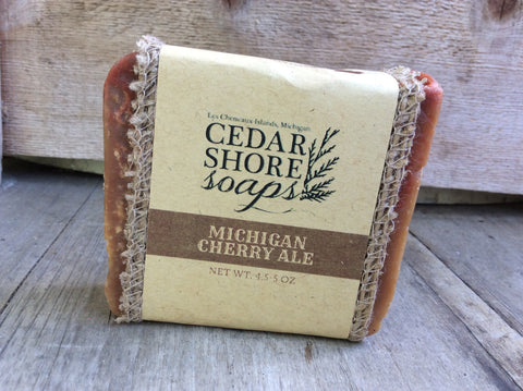 Michigan Cherry Ale Soap Bar