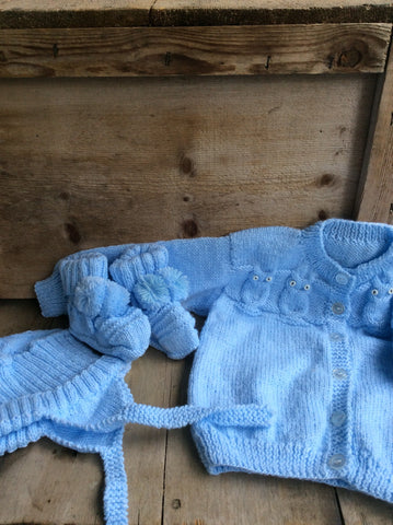Blue Baby Set by Lois Tassier