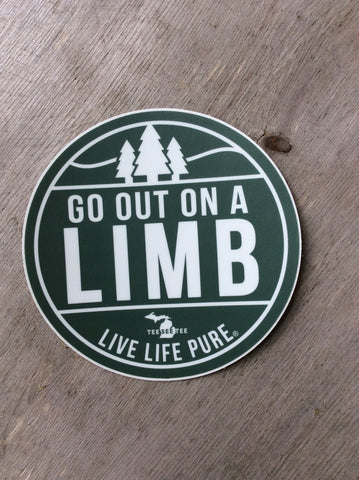Go Out On A Limb Sticker