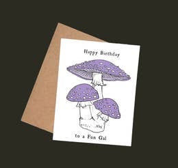 Happy Birthday to a Fun Gal Card by Nature Walk