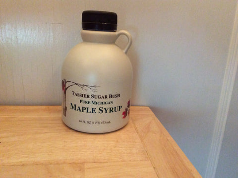 Tassier Maple Syrup Jug - 1 pint