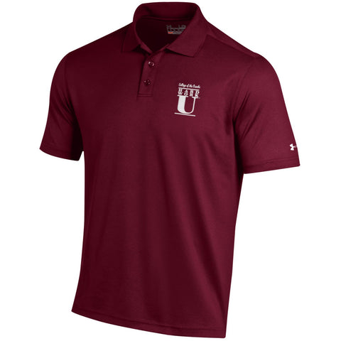Under Armour®  Mens Performance Polo- Hard Work U