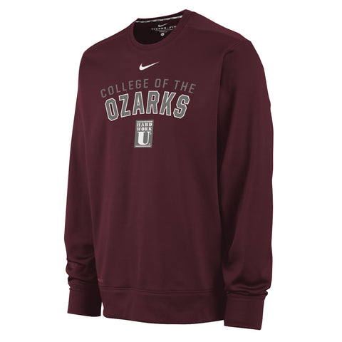 Nike® Therma-FIT Crewneck Sweatshirt- College of the Ozarks