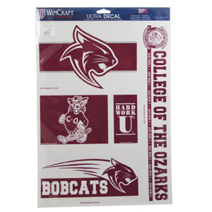 "Wincraft 11"" x 17"" Multi-Use Decals"