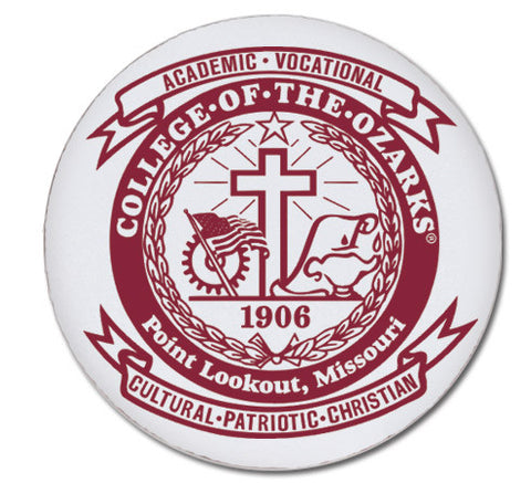 Round Magnet- College of the Ozarks Seal