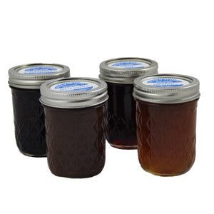 Four Assorted Jellies and Preserves