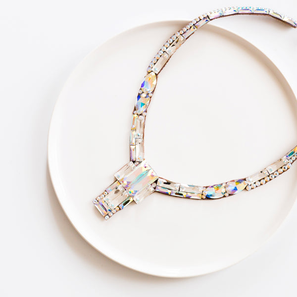 Brooklyn Necklace - Crystal AB