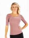 Paige Top - Dusty Rose