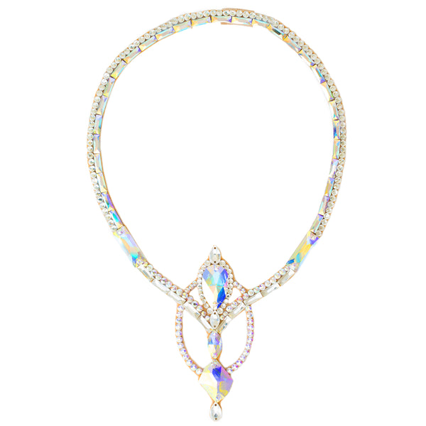 Geneva Necklace- Crystal AB