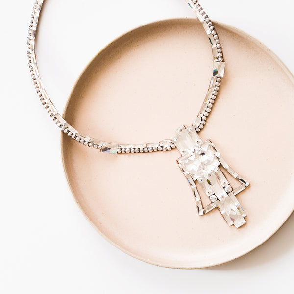 London Necklace - Crystal