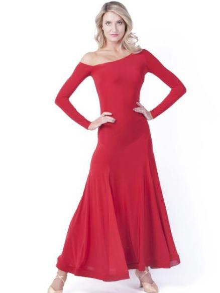 Maya Gown- Red
