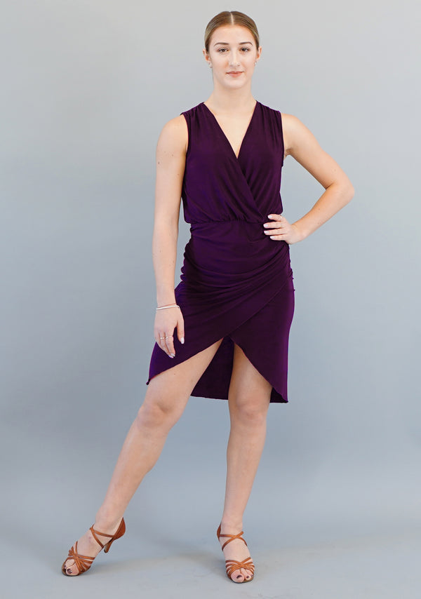 Gabriella Dress - Plum