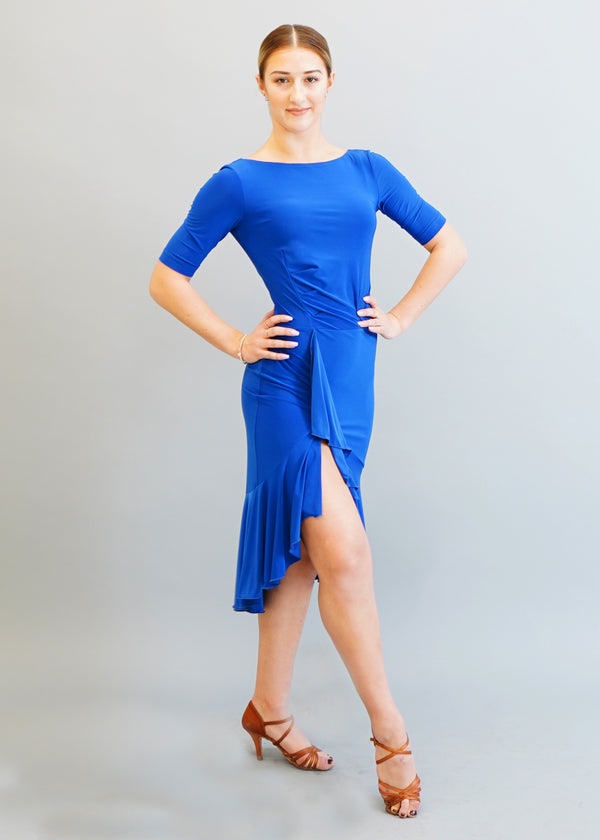 Kaia Dress- Cobalt