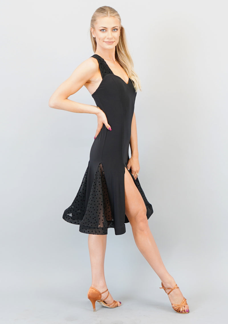 Lola Dress - Flamenco Mesh