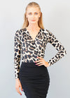 London Bodysuit - Animal Print
