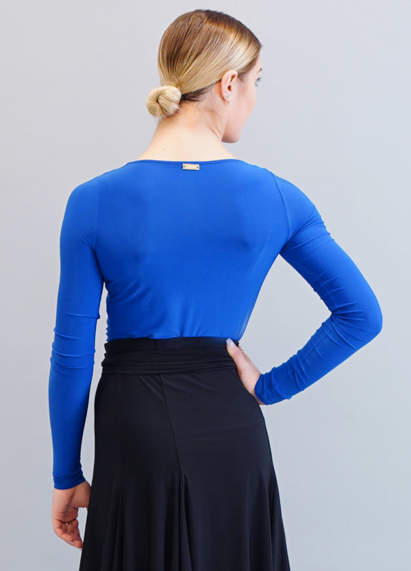 London Bodysuit- Cobalt