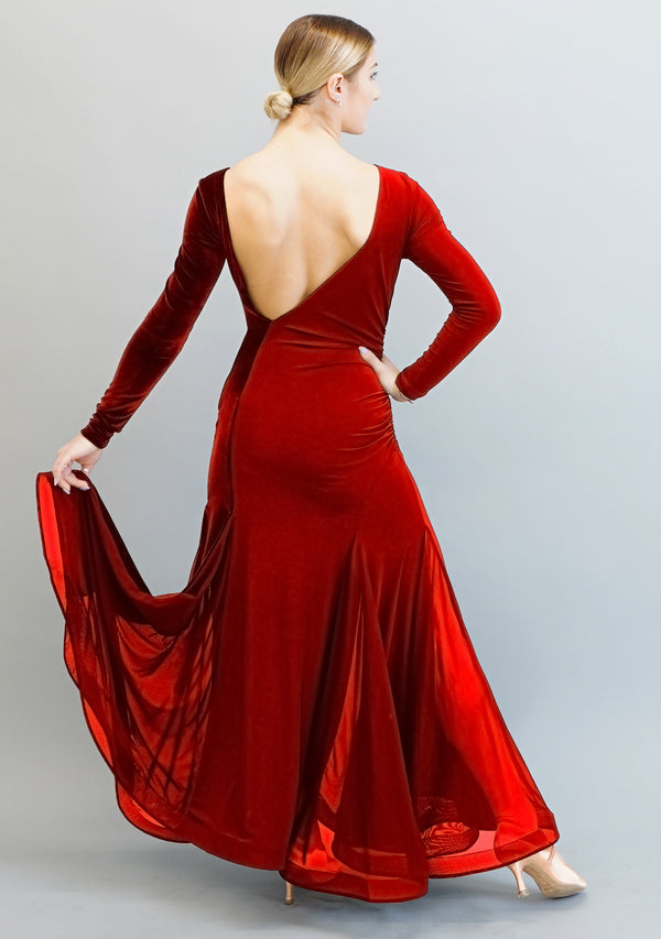 Marissa Gown - Red Velvet