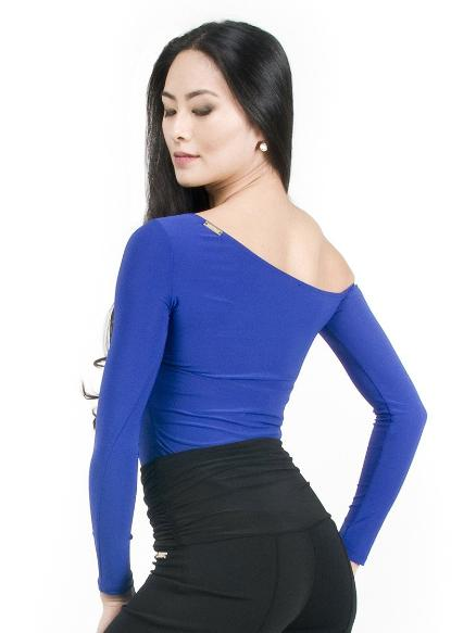 Maya Off The Shoulder Top - Blueberry , Top - Miari, Miari  - 3