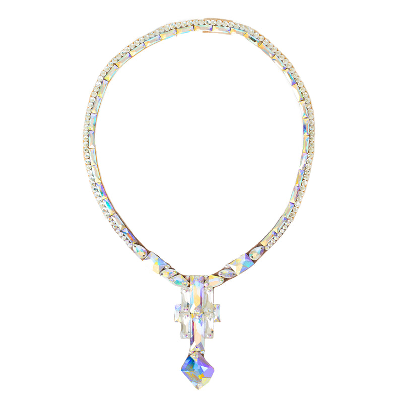 Opera Necklace- Crystal AB