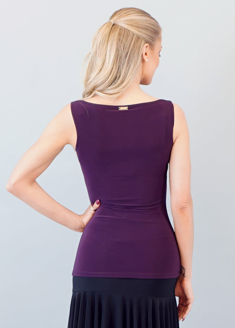Paige Top - Plum