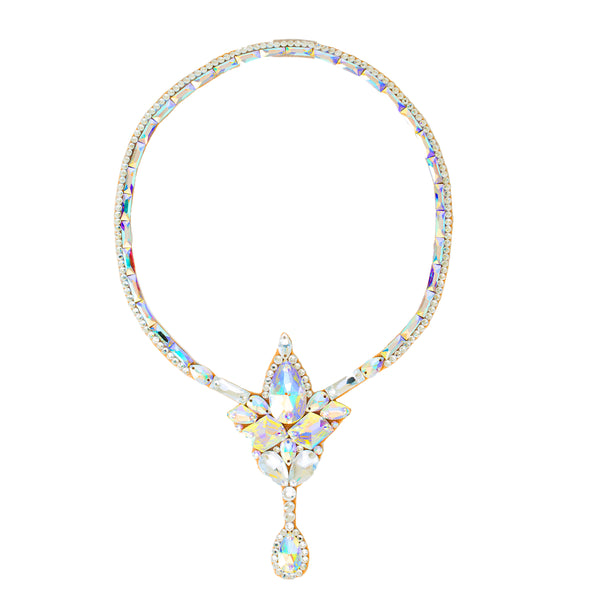 Paris Necklace- Crystal AB