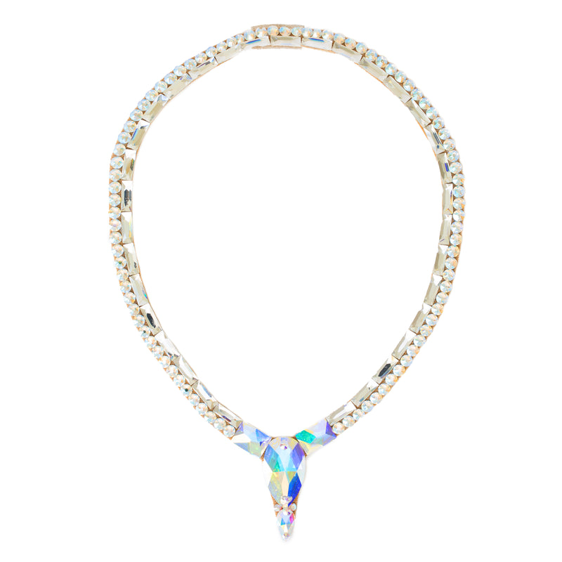 Pendant Necklace- Crystal AB