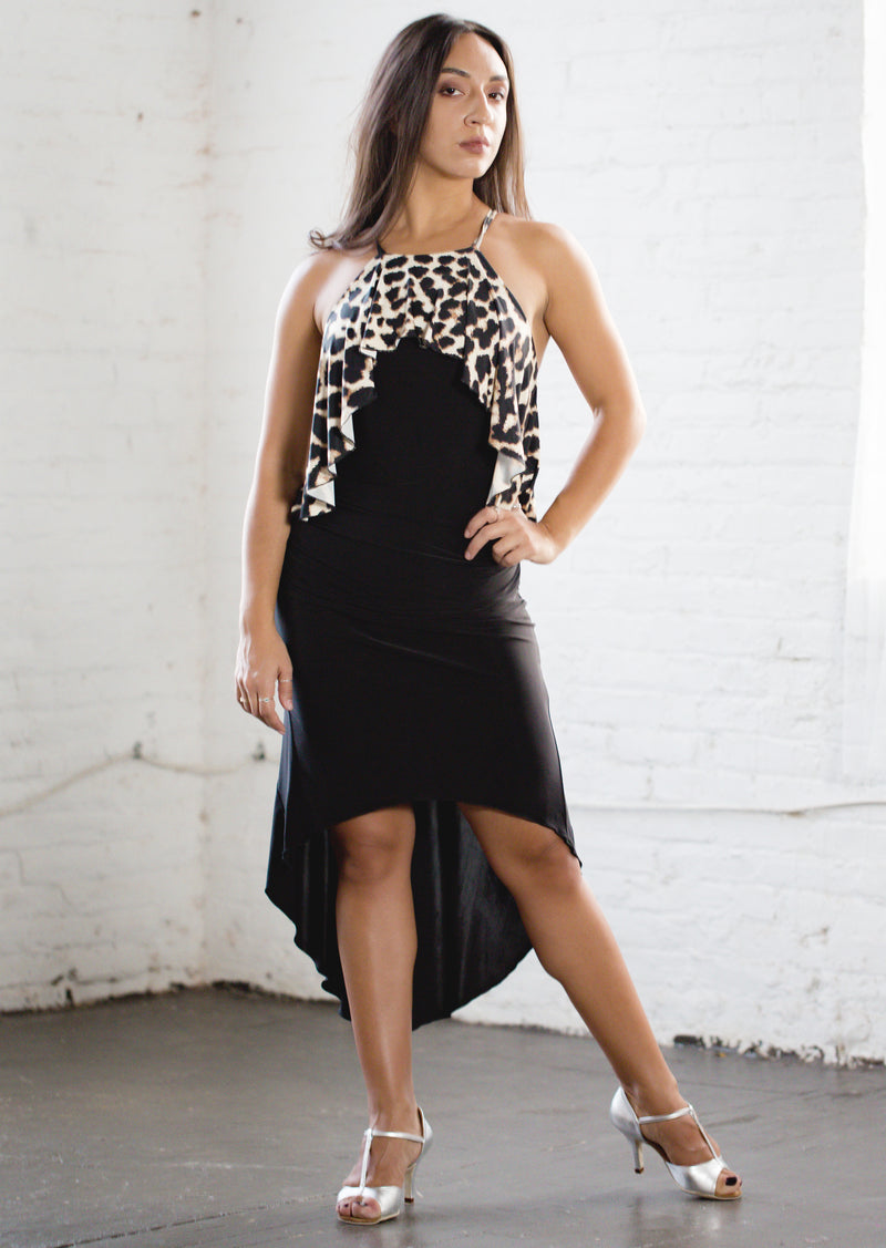 Penelope Latin Dress - Animal