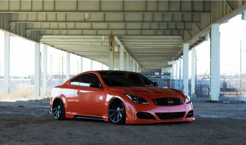 2008-2014 Infiniti G37/Q60 Coupe TS-Style Front Bumper
