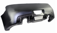 03-07 Infinit G35 Coupe ChargeSpeed Rear Bumper