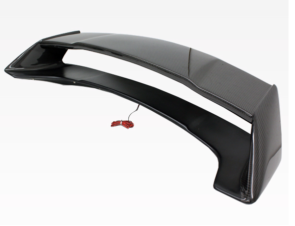 03-08 Nissan 350Z 2Dr Ams Rear Spoiler With Carbon Center Deck