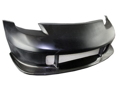 03-08 Nissan 350Z 2Dr N Spec Front Bumper with Carbon Lip