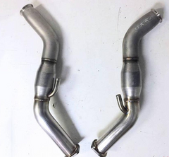 AAM Competition Cast Widemouth Full Race Downpipes Infiniti Q50 | Q60 3.0T 2016-2018