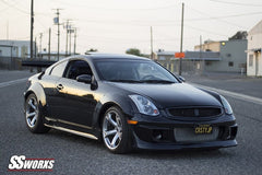 03-07 Infiniti G35 Coupe SBLW Sspeed Complete Kit