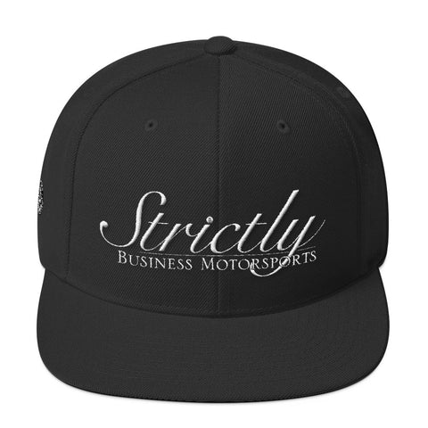 Strictly Business Wool Blend Snapback