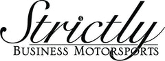 Strictly Business Motorsports Vector Logo- Decal