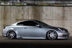 03-07 Infiniti G35 Coupe Greddy Side Skirts