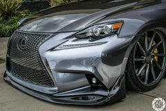 FP-STYLE CARBON FIBER FRONT LIP FOR 2014-2016 LEXUS IS 250/300/350 F SPORT