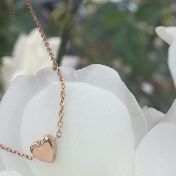 Heart Bracelets In solid 18k Rose Gold