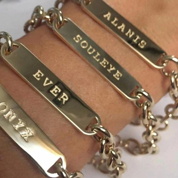 Custom made bracelets for Alanis Morissette by Paulina jewelry