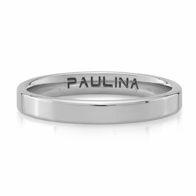 Ring made by hand in solid 18k. Available in solid 18k rose, yellow and white gold. Made by hand and to order in USA. Expected shipping 3-5 business days. www.paulinajewelry.com