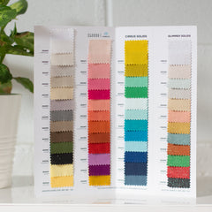 Cirrus Solids Swatch Card
